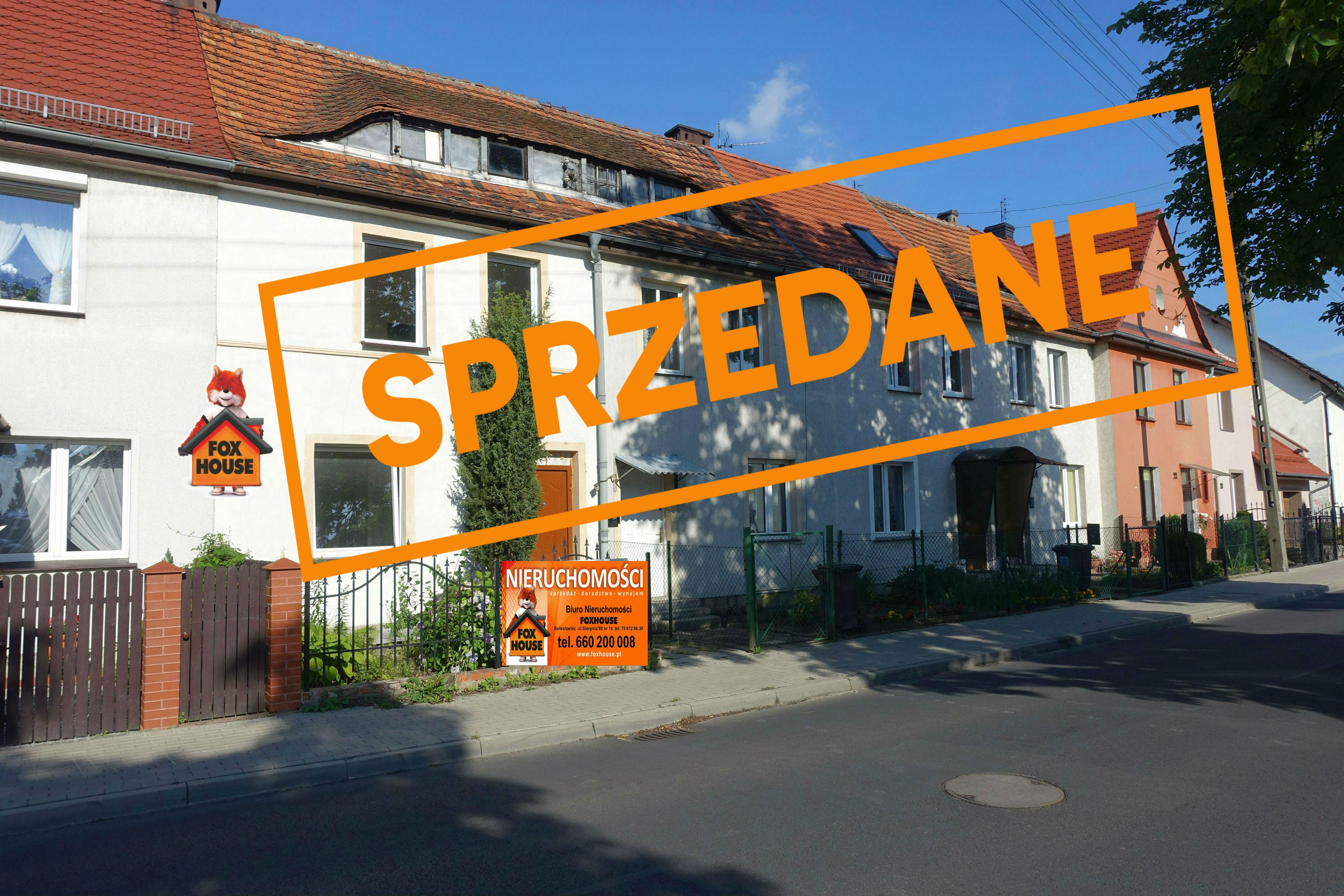 Dom w zabudowie szeregowej w Bolesławcu