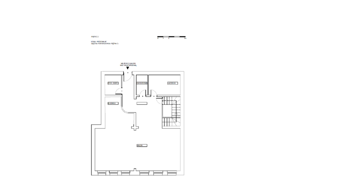 RZUT 2 Piętro - Apartament