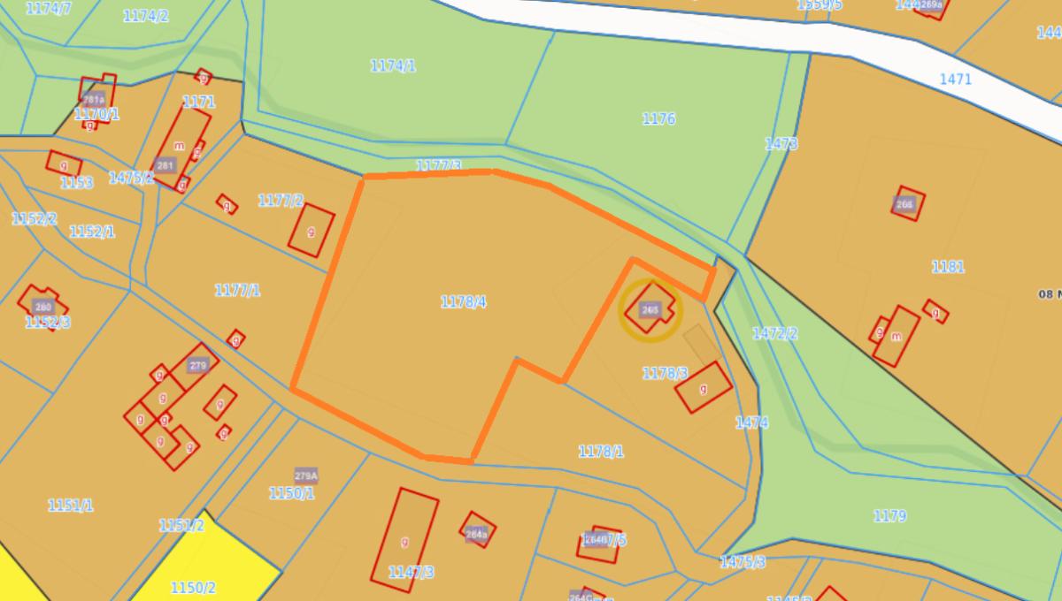 mapa gościszów