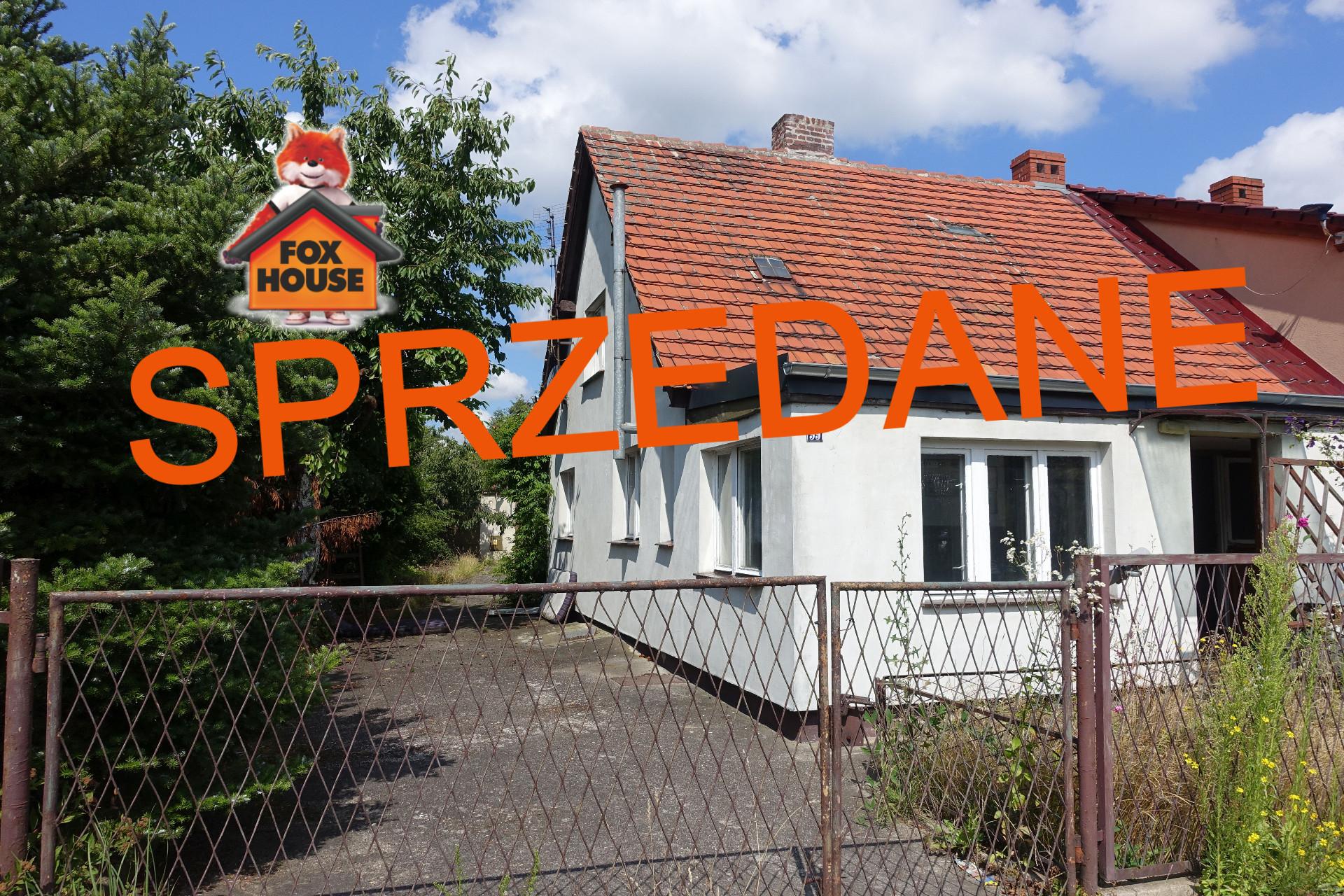 DOM bliźniak z dużą DZIAŁKĄ i GARAŻEM w Bolesławcu