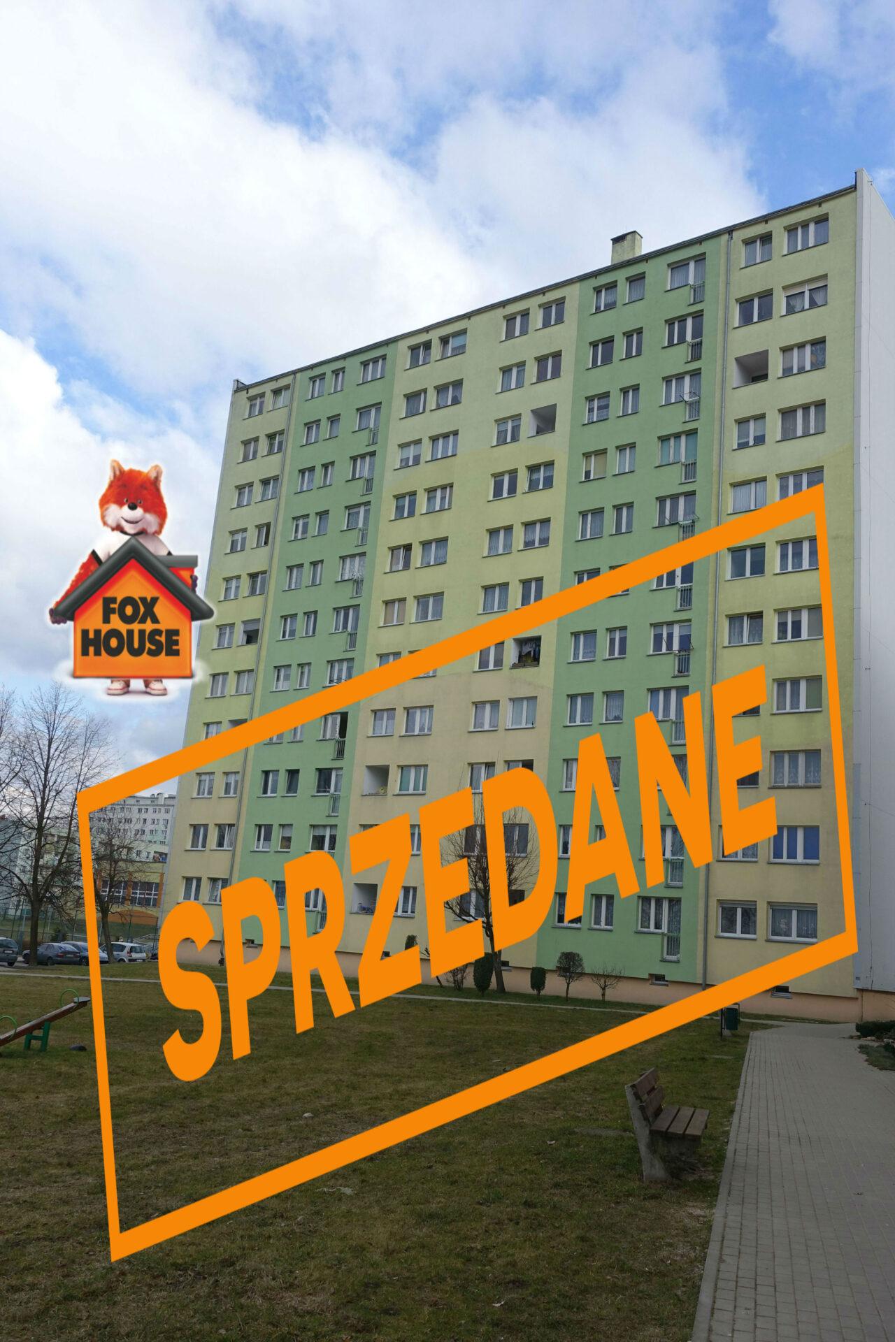 Mieszkanie 3-pokojowe z balkonem przy ul. Jana Pawła II