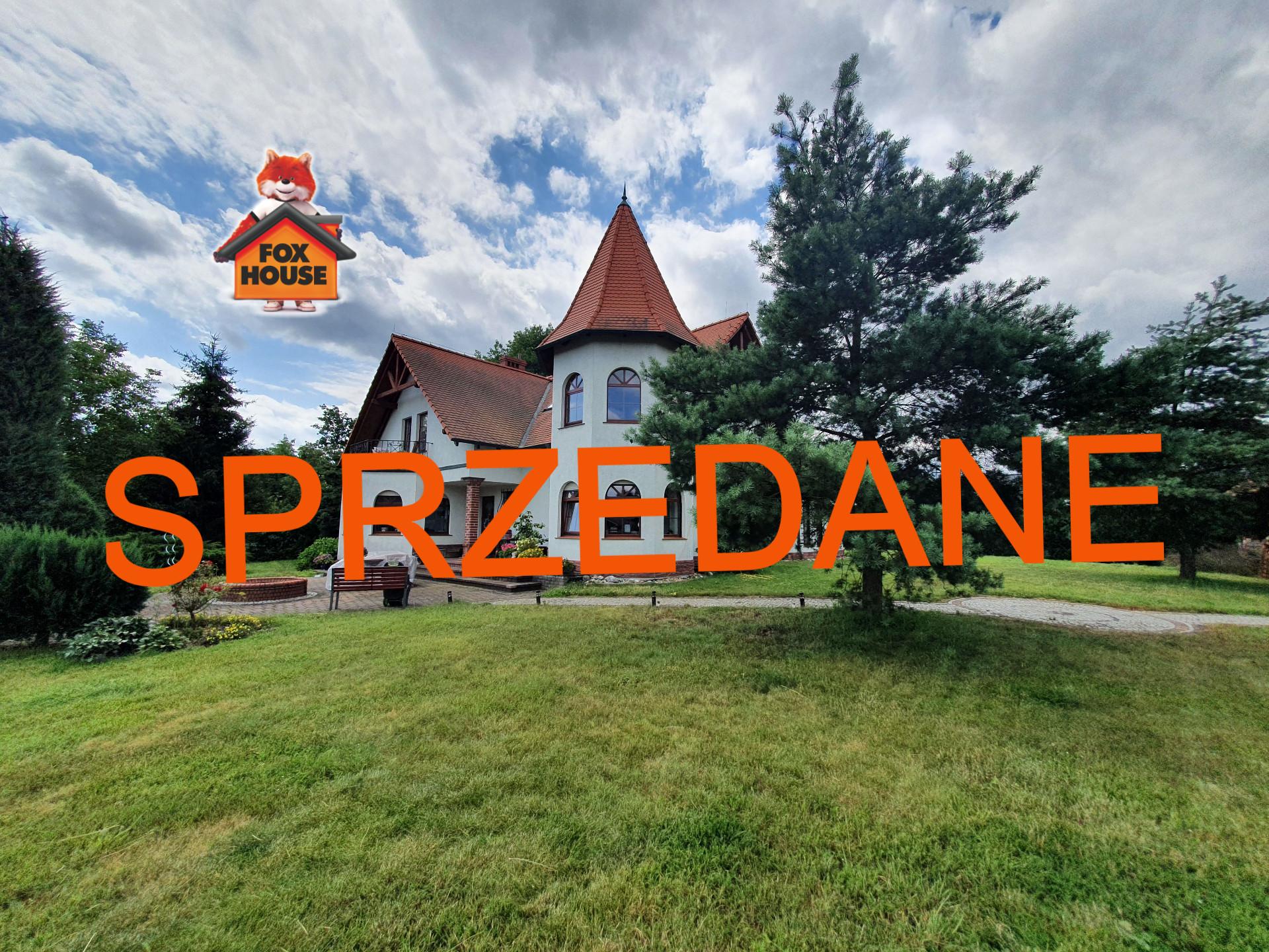 Piękna WILLA z DUŻĄ działką w Bolesławcu