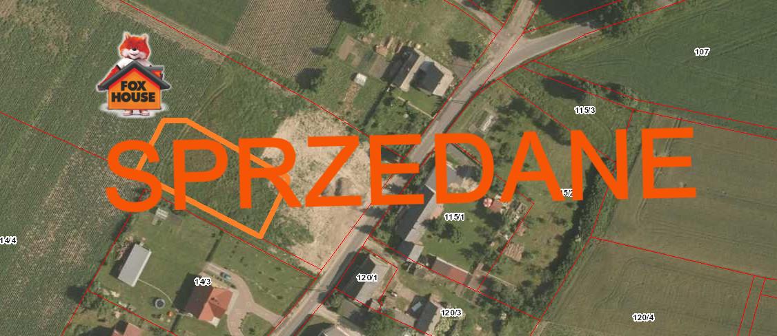 Działka budowlana – Nowa Wieś