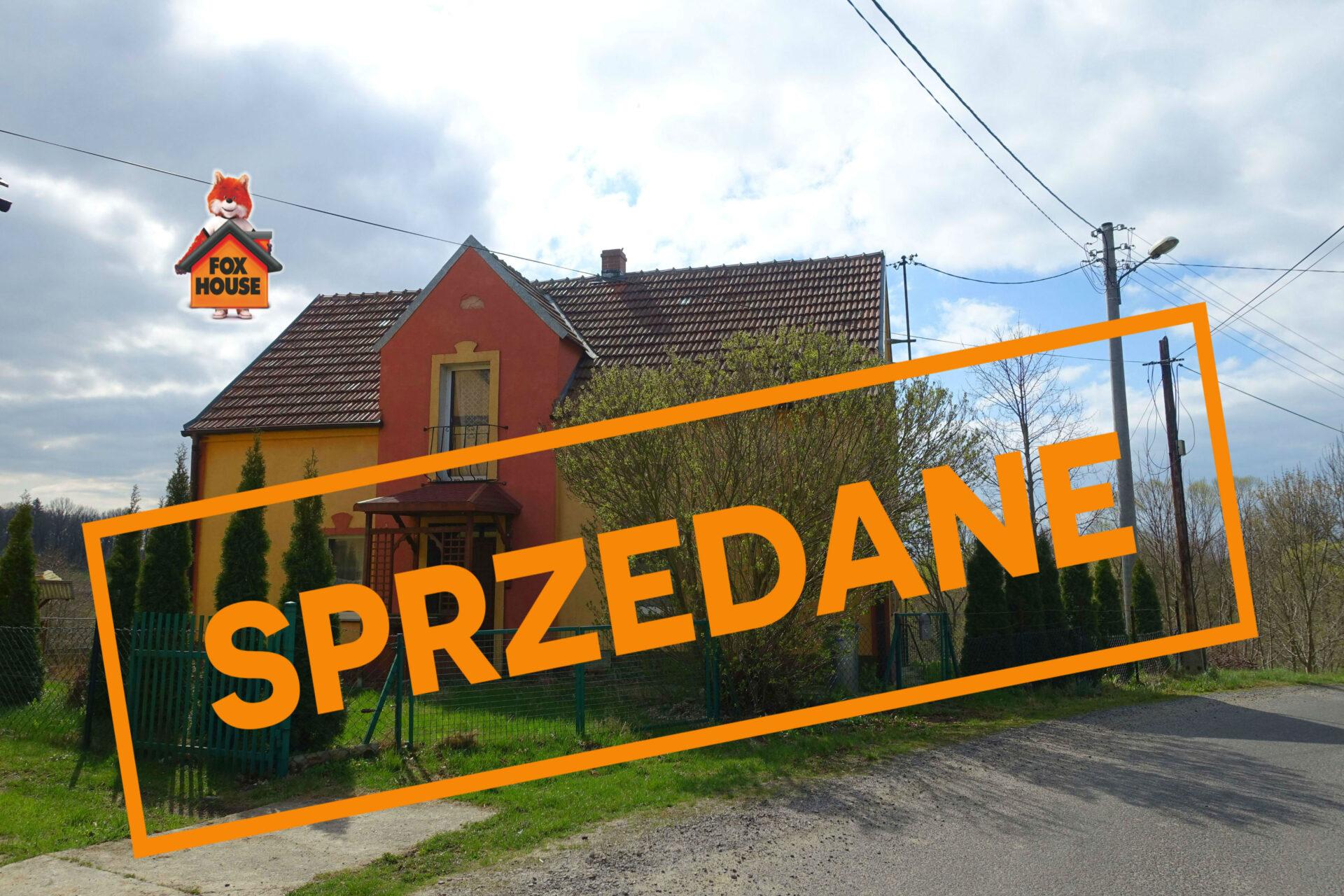 Dom jednorodzinny we Włosieniu, powiat Lubański