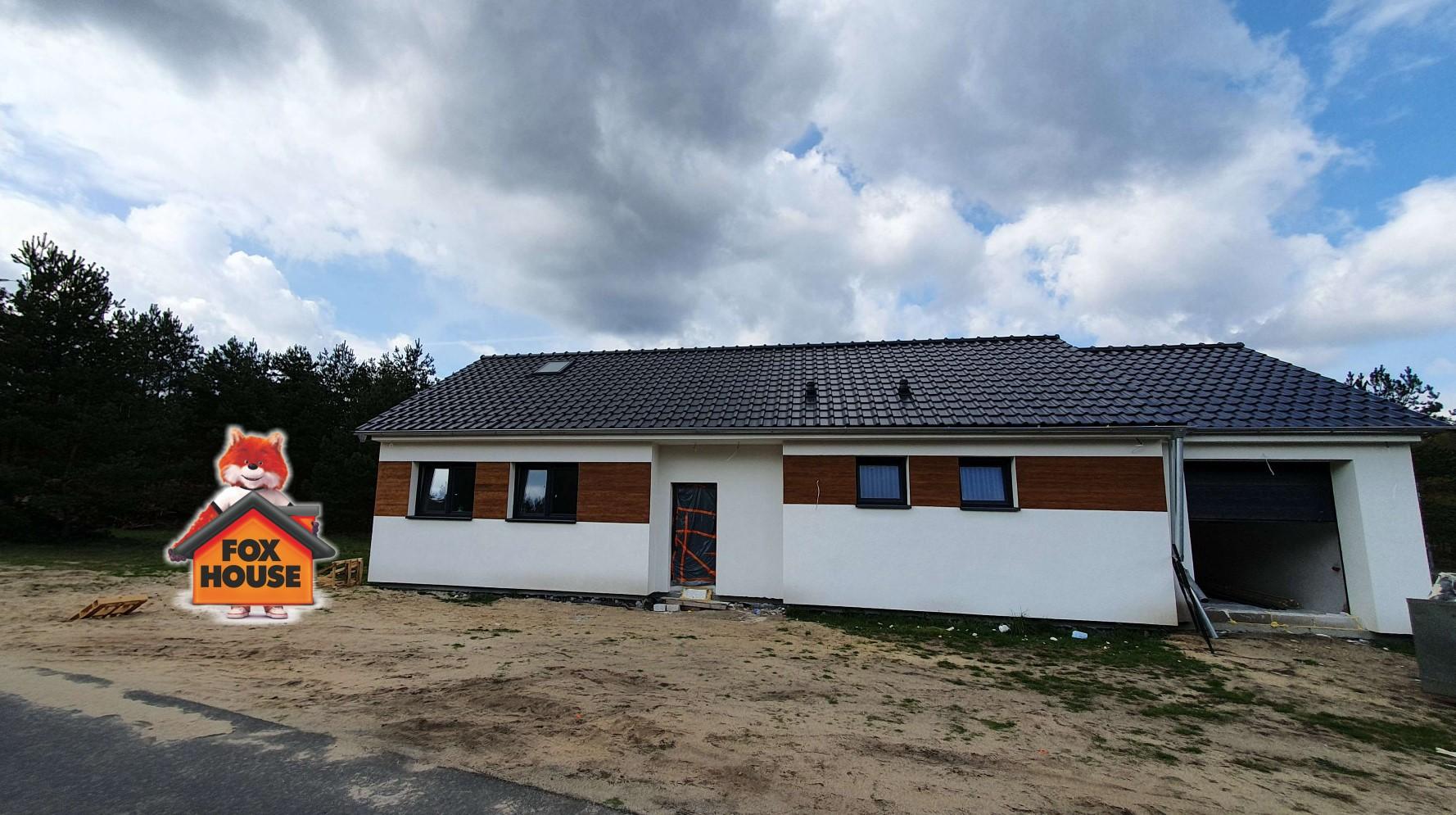 Dom energooszczędny w stanie deweloperskim w Kliczkowie