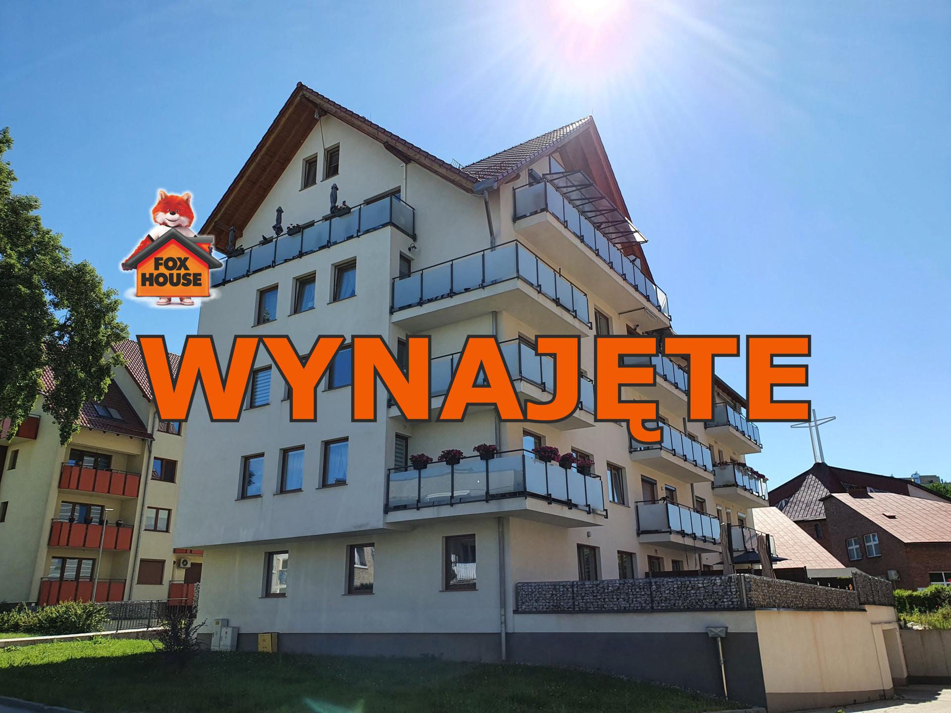 W budynku z WINDĄ – 2-pokoje z BALKONEM