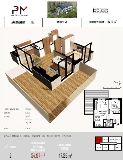 Apartament-Bursztynowa-piętro1-9